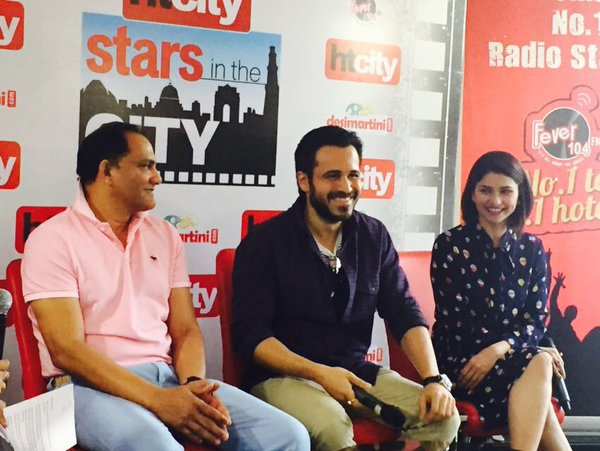 Emraan Hashmi and Prachi Desai Promote Film Azhar at HT City