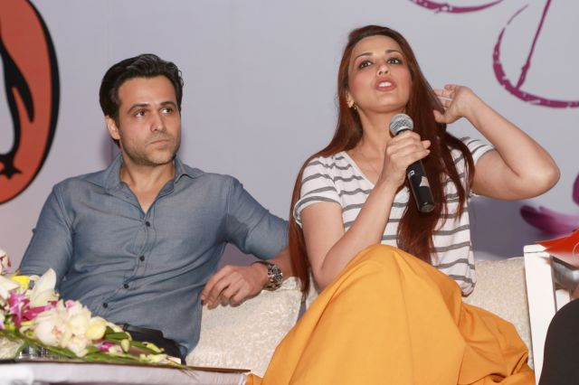 Emraan Hashmi and Sonali Bendre at Spring Fever in Delhi
