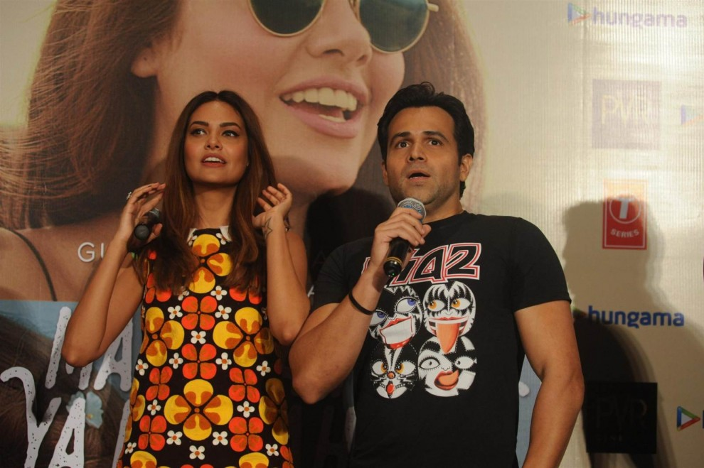 Emraan Hashmi & Esha Gupta Launch Music Video Main Rahoon Ya Na Rahoon