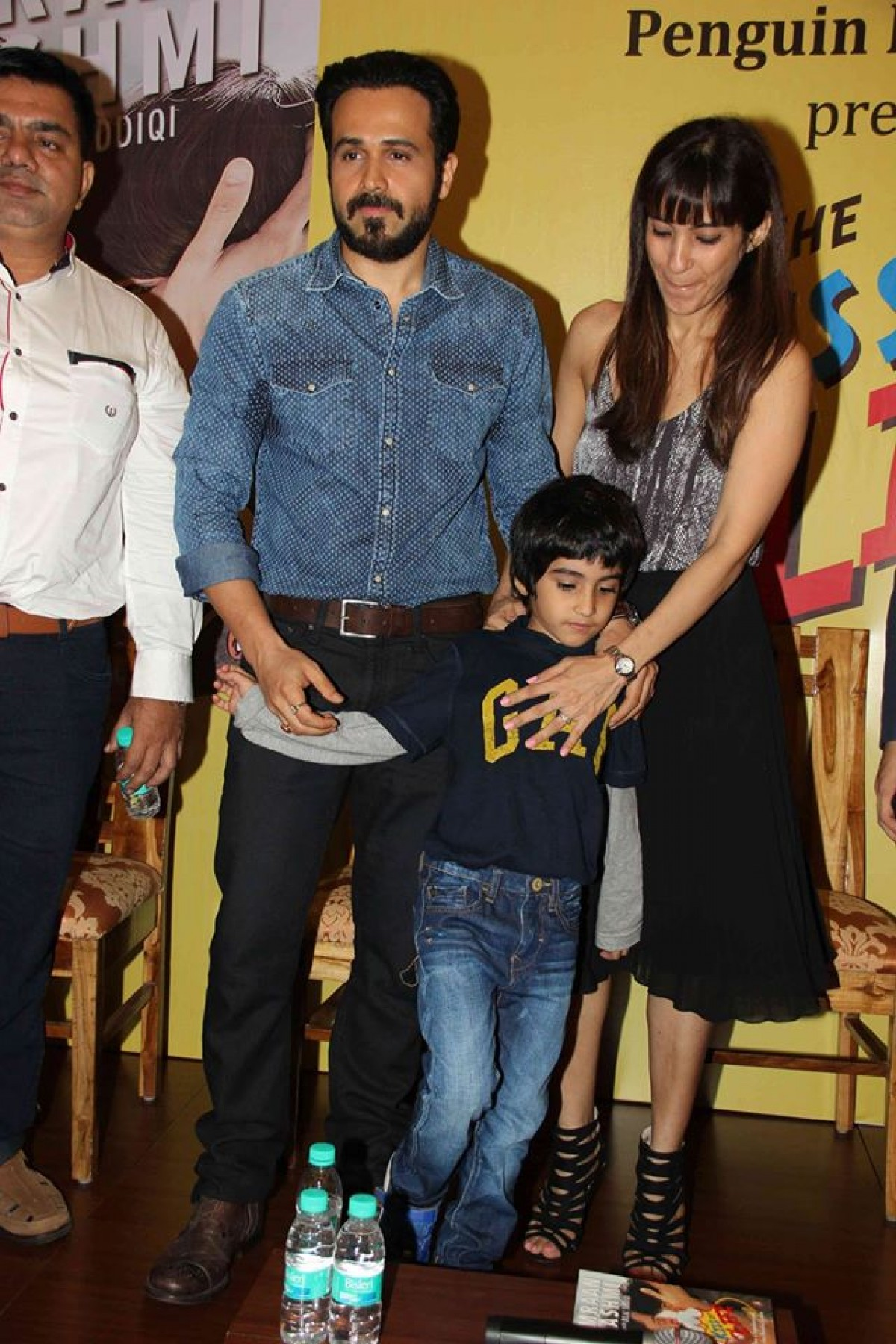 Emraan Hashmi launches his book The Kiss of Life