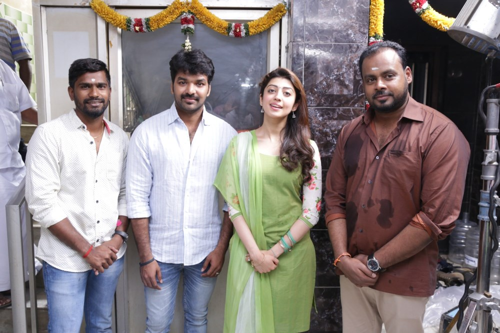 Enakku Vaitha Adimaigal Movie Pooja Event Stills