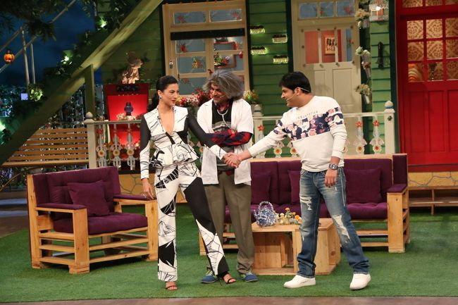 Gauhar Khan, Kapil Sharma & Sunil Grover