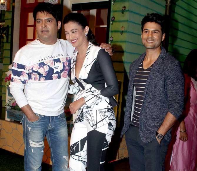 Gauhar Khan, Rajeev Khandelwal & Kapil Sharma