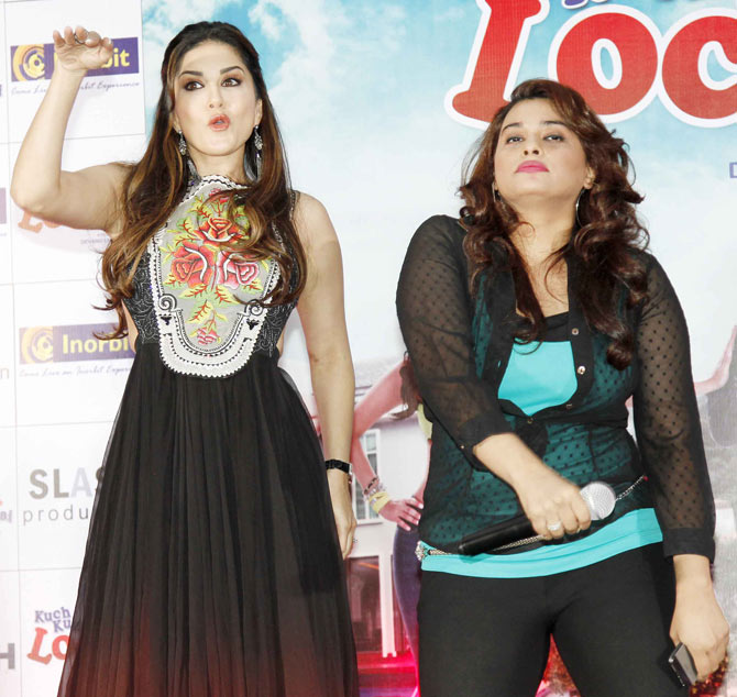 First look launch of Kuch Kuch Locha Hai Movie in Mumbai