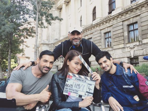Force 2 Team in Budapest for Shooting