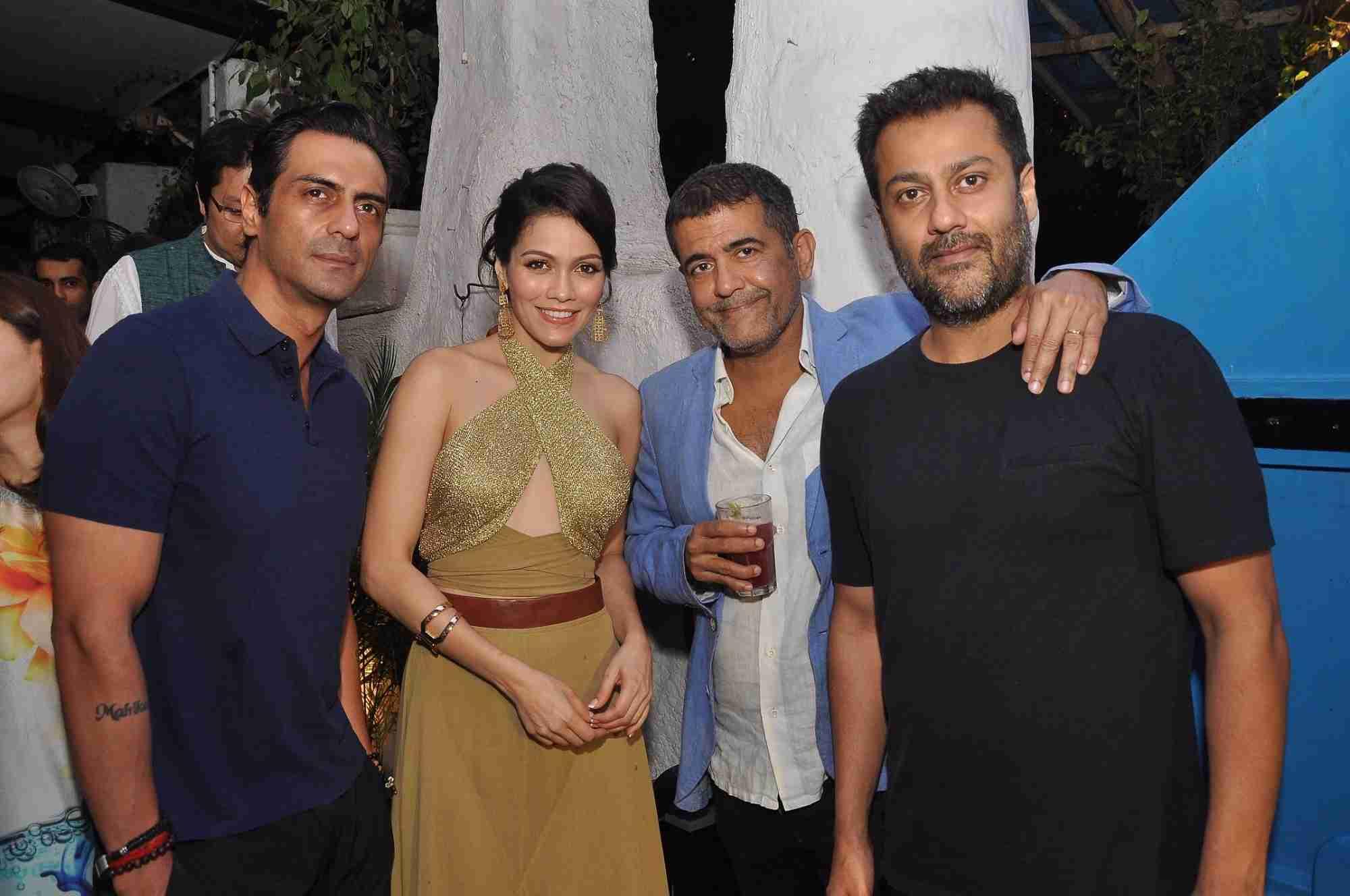 Arjun Rampal, Waluscha De Sousa & Abhishek Kapoor