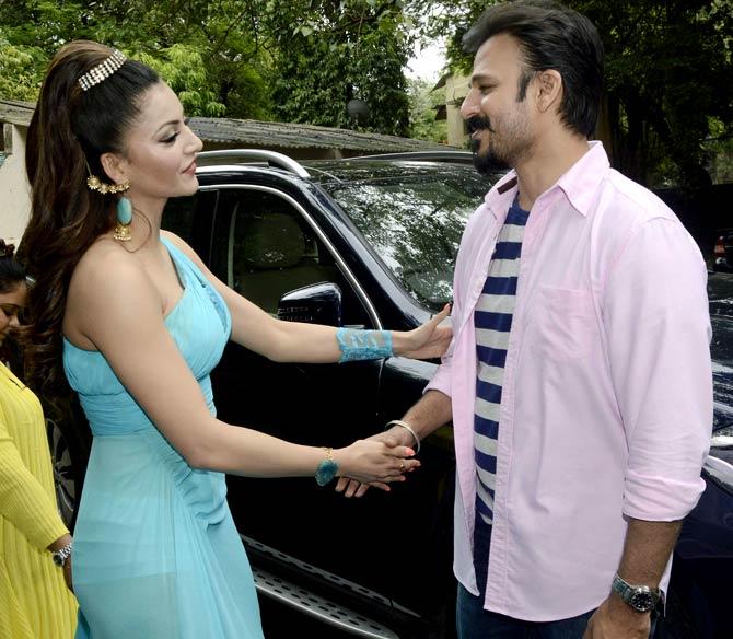 Vivek Oberoi & Urvashi Rautela