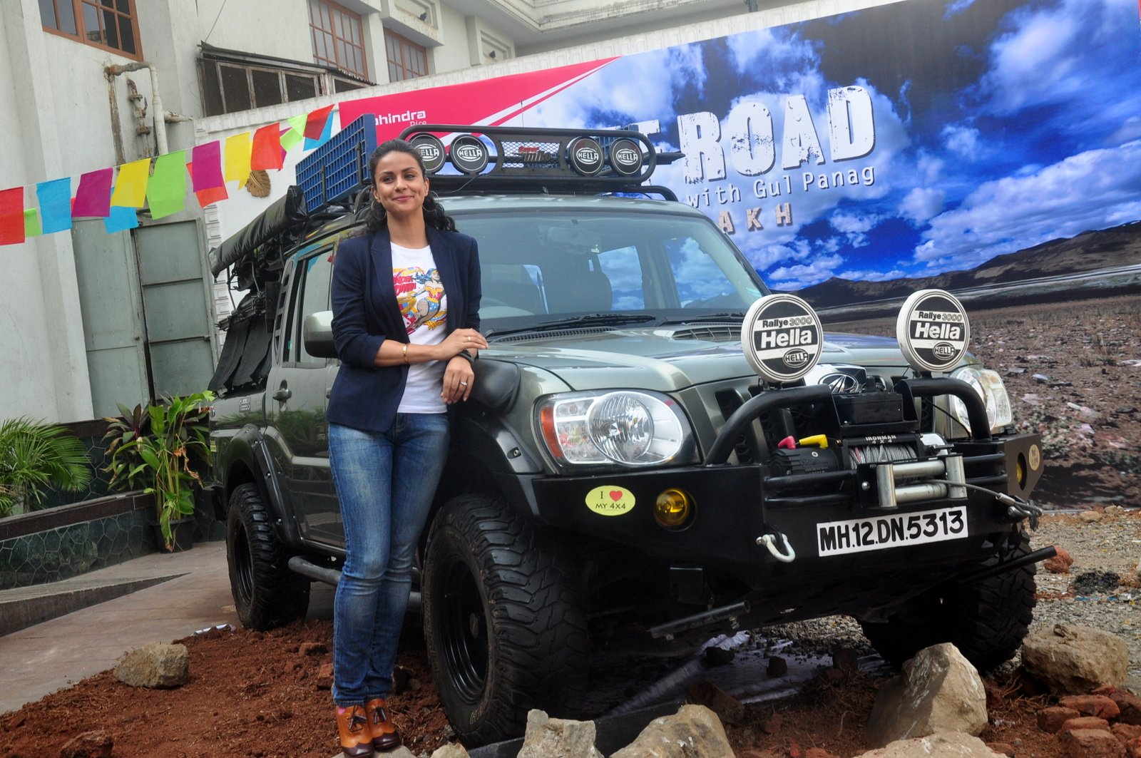 Gul Panag Launcg New Show Off Road with Gul Panag : Ladakh in Mumbai