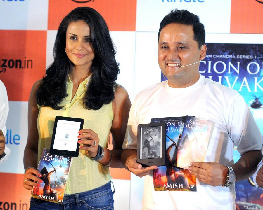Gul Panag Launches Amishs New Book in New Delhi