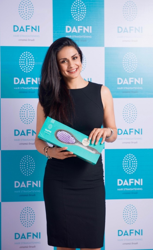 Gul Panag Launches Hair Product Dafni in India