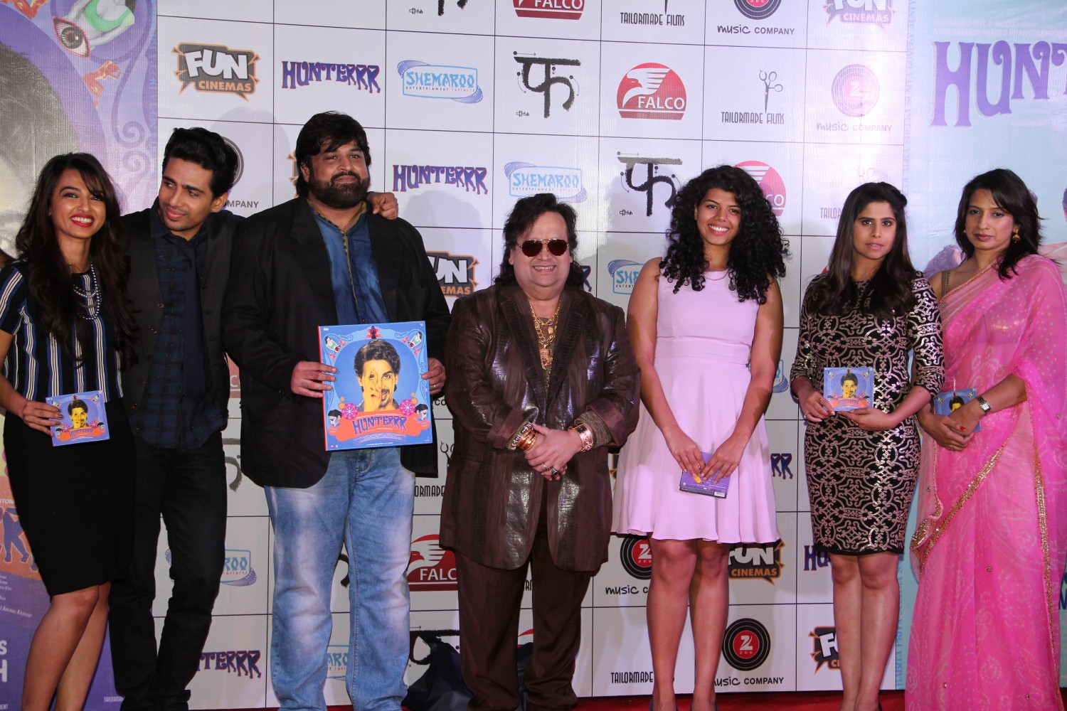 Gulshan, Radhika, Sai & Vira Music Launch of Hunterrr Movie