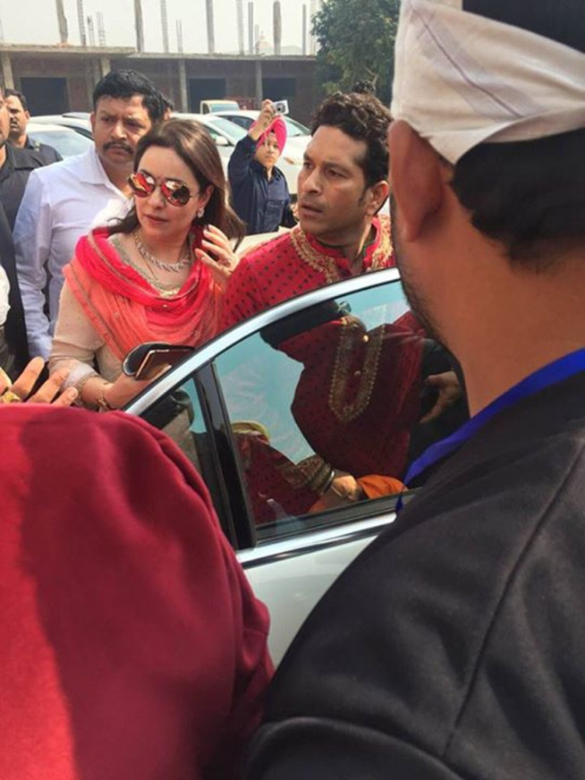 Harbhajan Singh and Geeta Basras Wedding Ceremony in Jalandhar