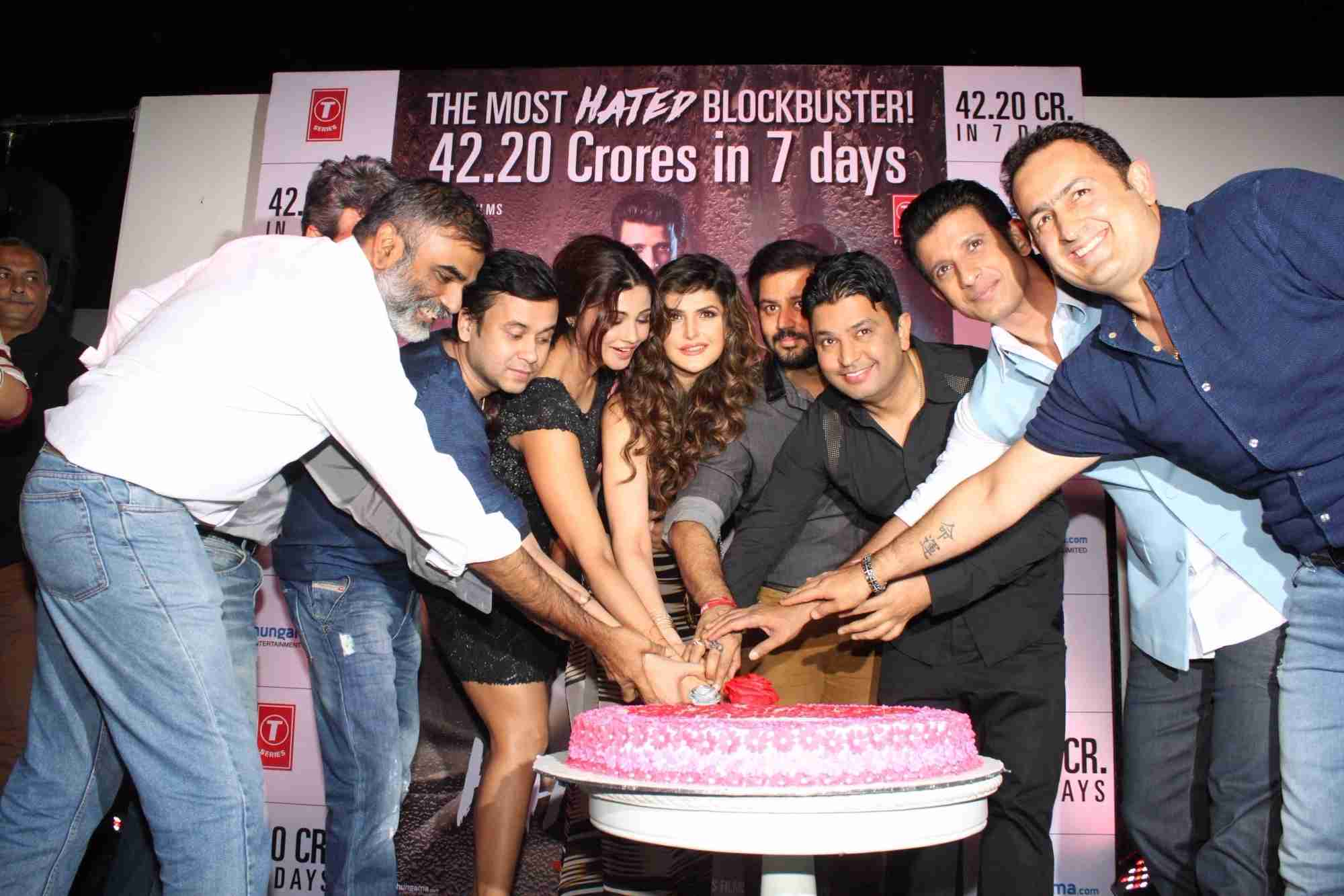 Hate Story 3 Movie Team Celebrate Success Party