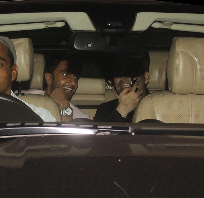 Hrithik, Ranveer & Other Celebs Spotted at Yash Raj Studios
