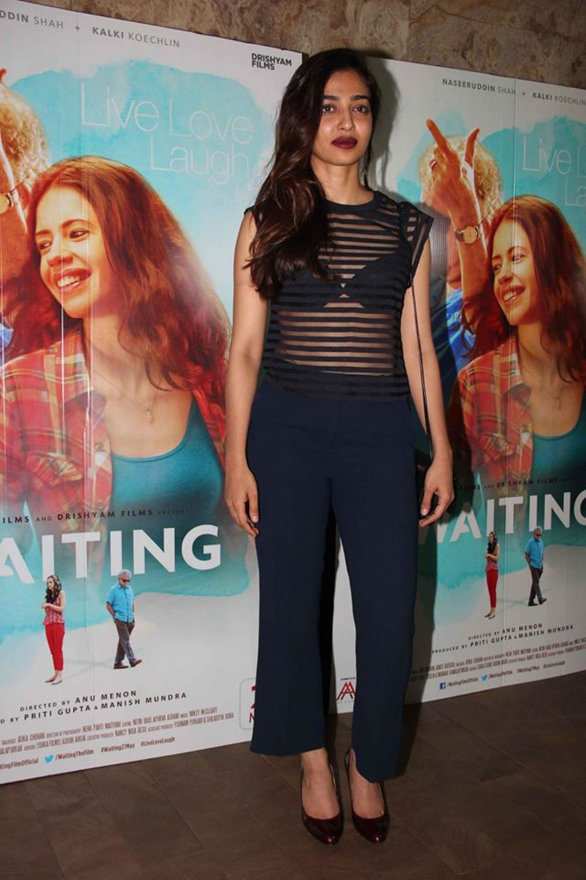 Huma Qureshi, Radhika Apte, Gulshan Devaiah and Adil Hussain special screening of Waiting