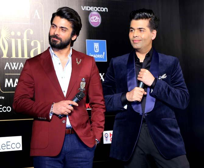Fawad Khan & Karan Johar