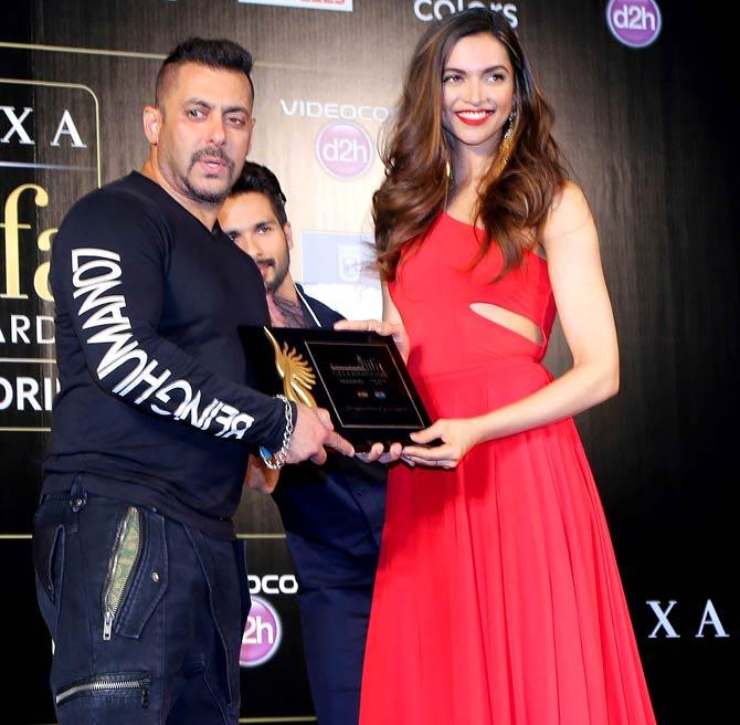Salman Khan & Deepika Padukone