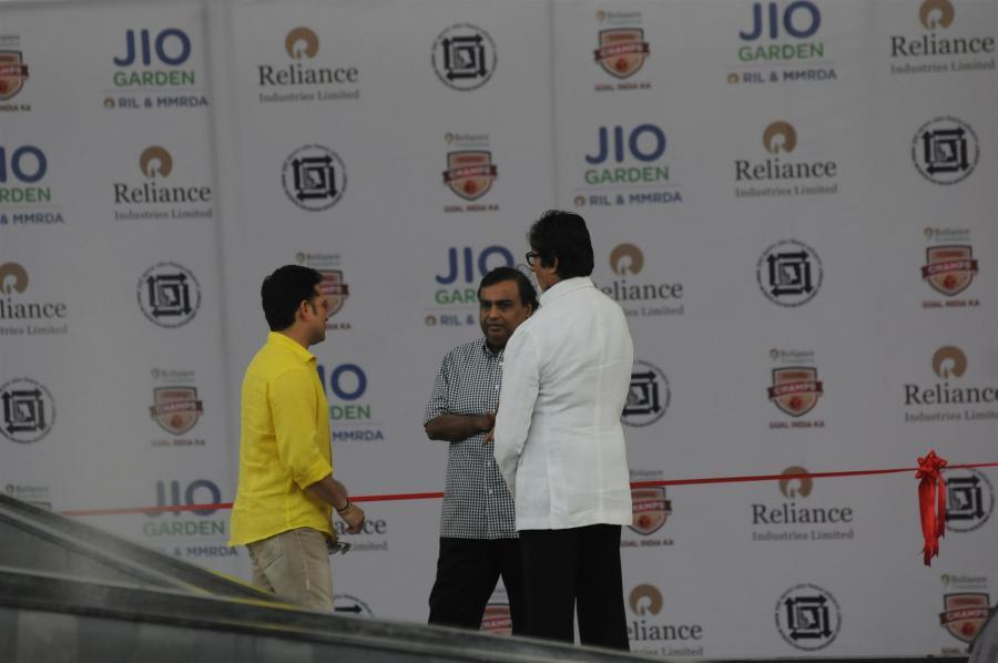 Inauguration of JIO Garden in Mumbai