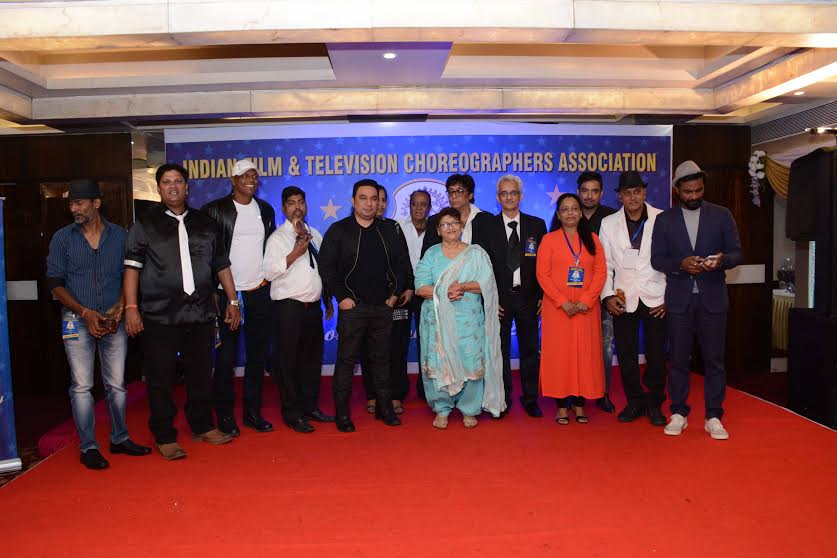 Indian Film & Television Choreographer Association (IFTCA) Event in Mumbai