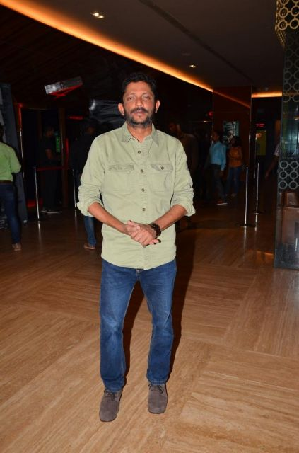 Irrfan Khan and Jimmy Sheirgill at the Trailer Launch of Movie Madaari
