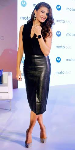 Jacqueline Fernandez at The Launch of Moto 360 Smartwatch Collection in New Delhi