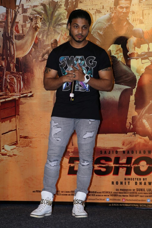 Bollywood singer Raftaar