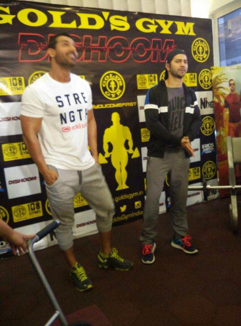 John Abraham & Varun Dhawan