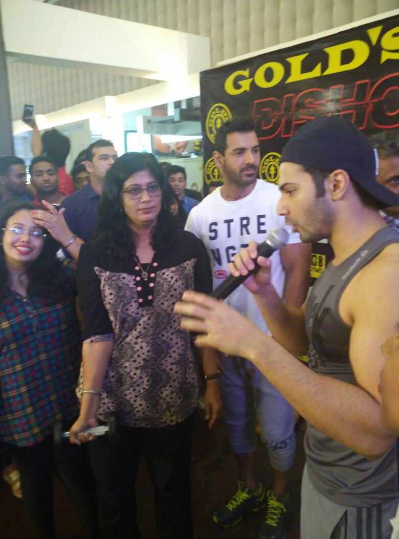 John Abraham and Varun Dhawan Promoted Dishoom Movie