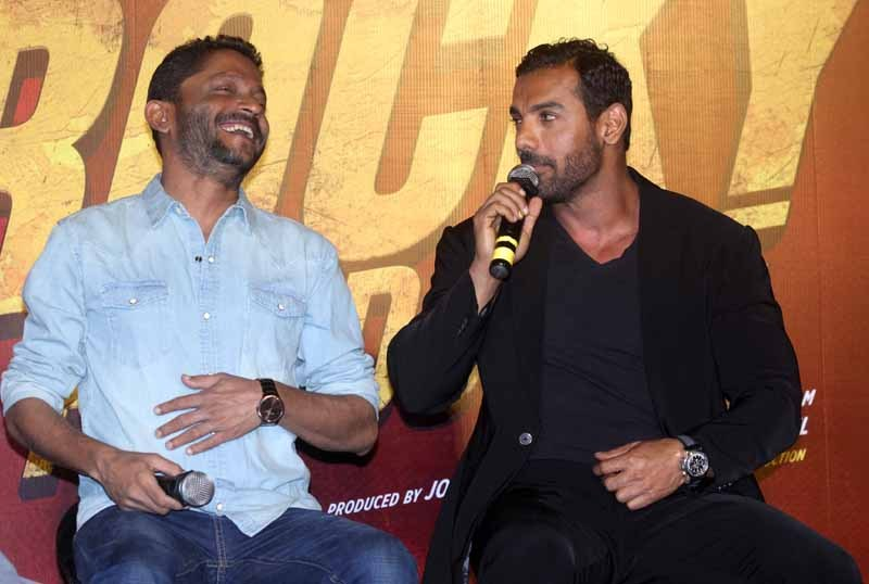 John Abraham & Nora Fathi Trailer Launch of film Rocky Handsome
