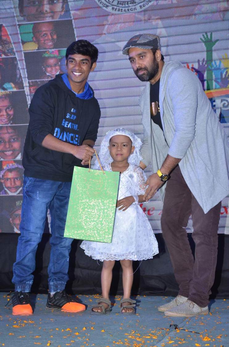 Johnny Lever & Bosco Martis at Impact Foundation Event
