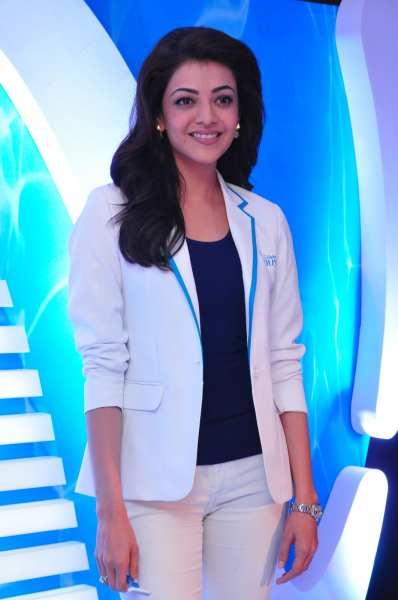 Kajal Aggarwal at Gillette Venus Event