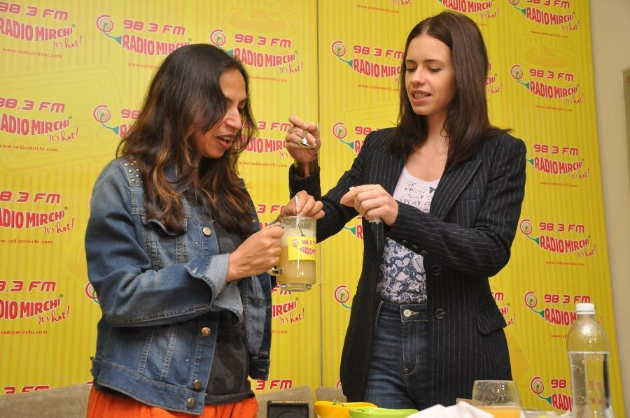 Kalki Koechlin Promoted Margarita With a Straw Movie at Radio Mirchi Studios in Mumbai