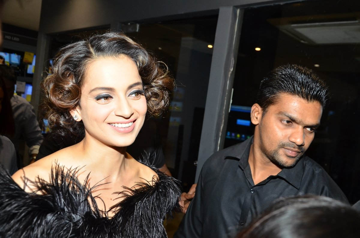 Kangana Ranaut at the Grazia Cover Launch Event