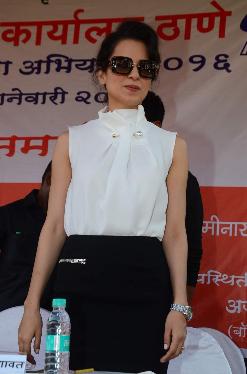 Kangna Ranaut & Arjun Kapoor at RTO Event in Thane