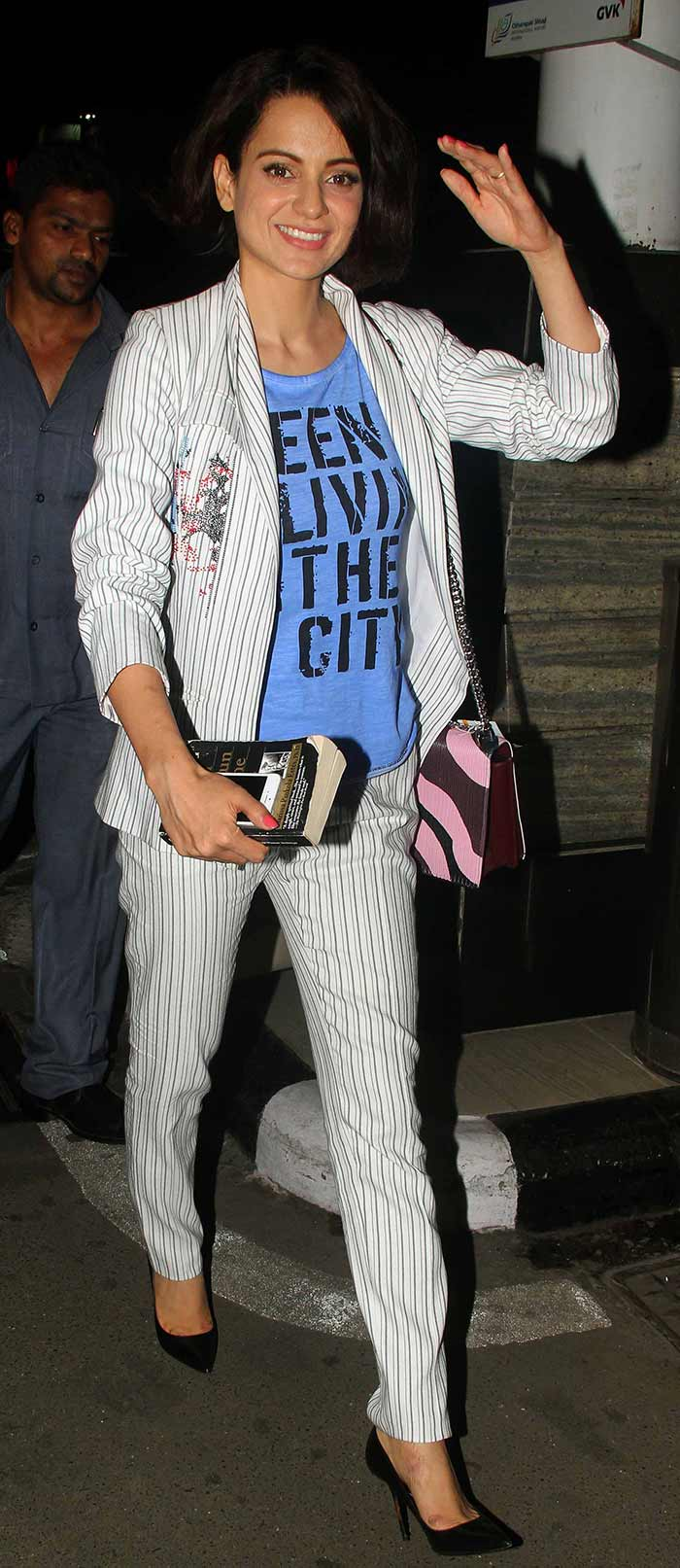 Kangna Ranaut Launch Mobile App Big Fish in New Delhi