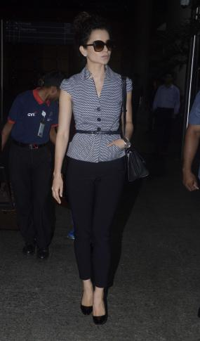 Kangna Ranaut Spotted at Airport