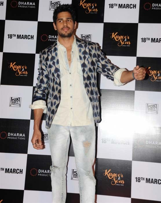 Kapoor and Sons Movie Trailer Launch Event