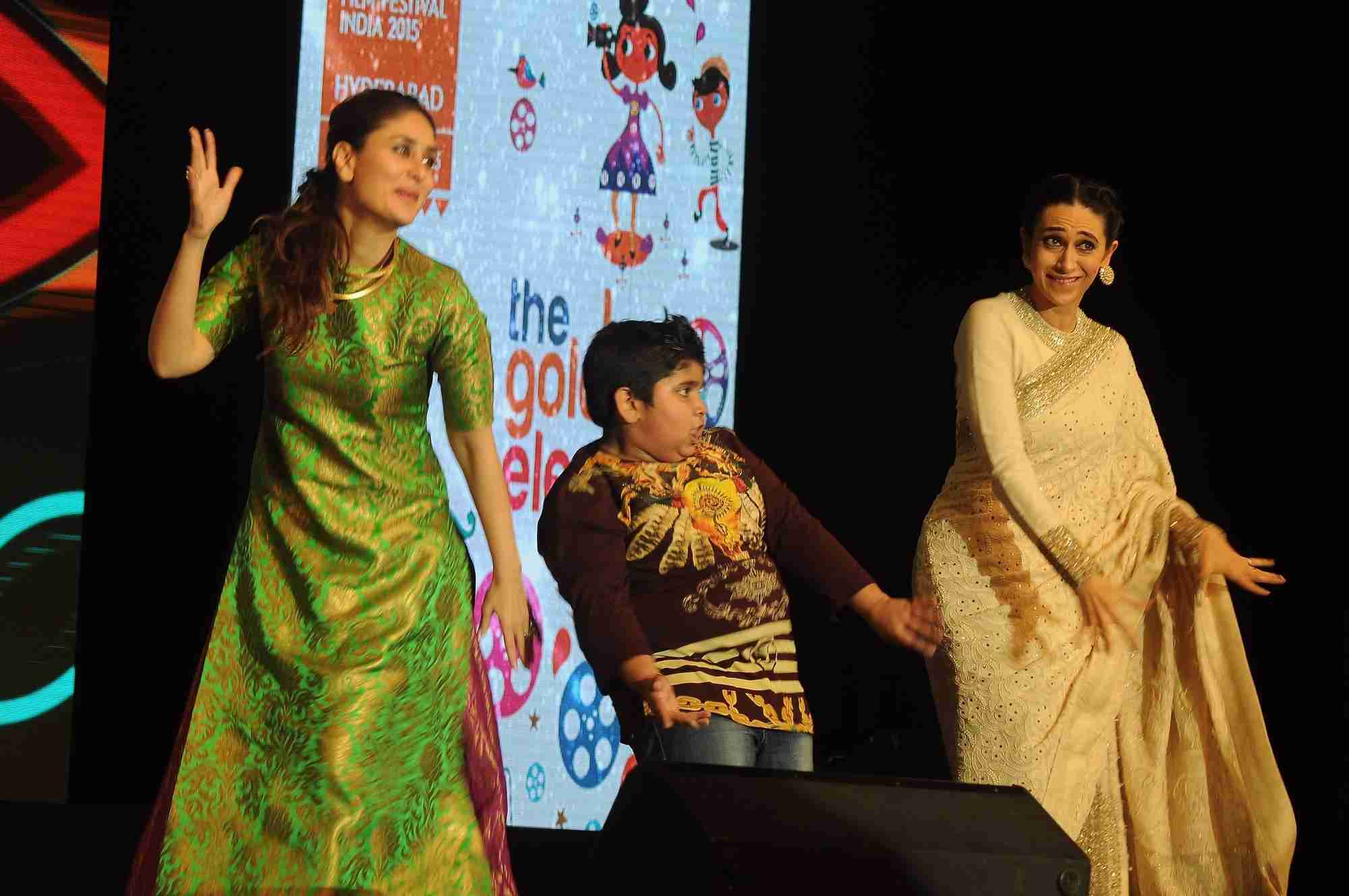 Kapoor Sisters at Childrens Film Fest 2015 in Hyderabad