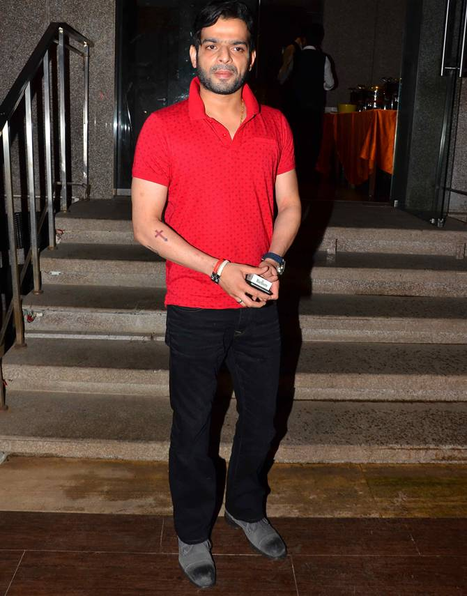 Karanvir Bohras B-Day Bash at Levo Lounge in Mumbai