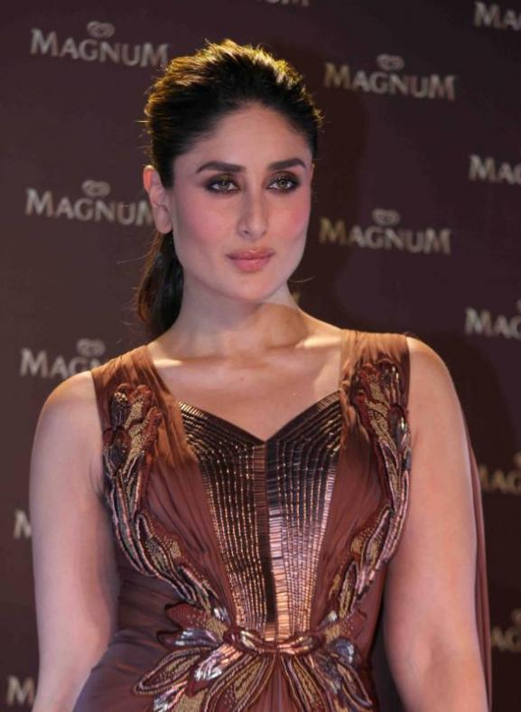 Kareena Kapoor During The Unveiling of New Magnum Ice Cream in Mumbai