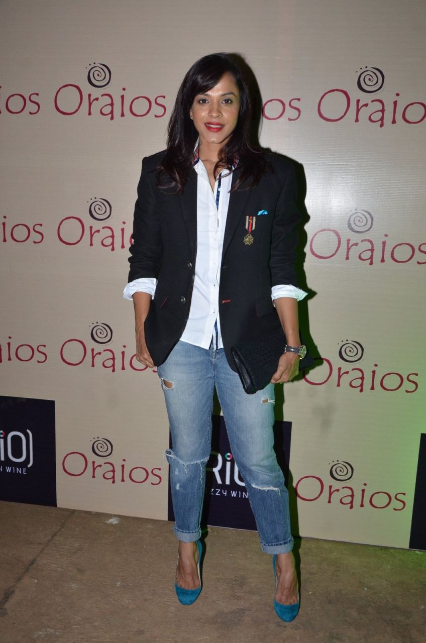 Karishma Tanna & Sana Khan at Oraios Spa Launch Event