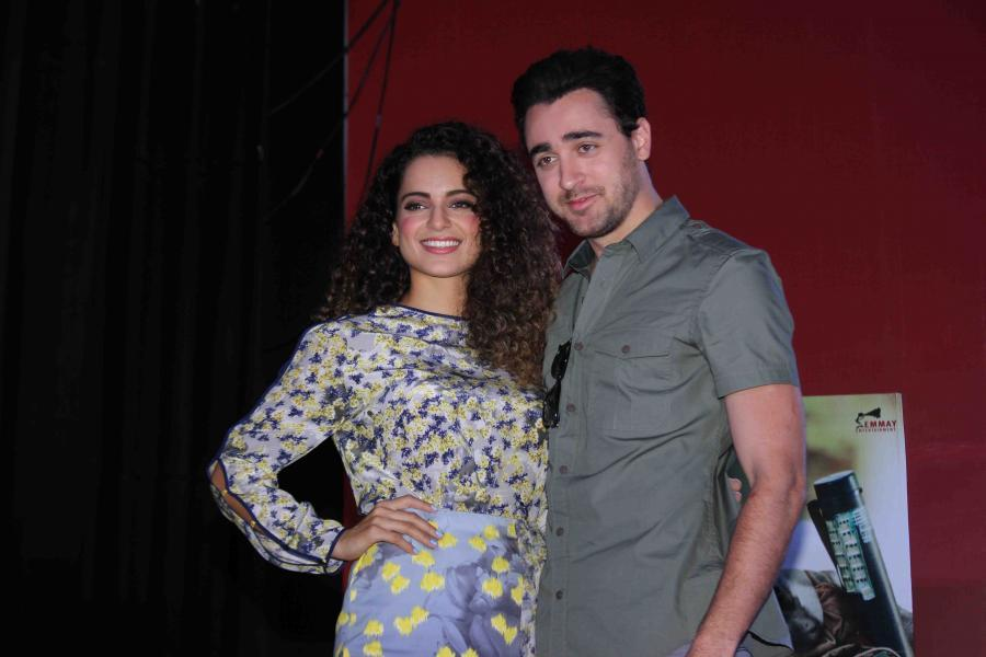 Katti Batti : Kangana Ranaut & Imran Khan Visit at Sophia College in Mumbai