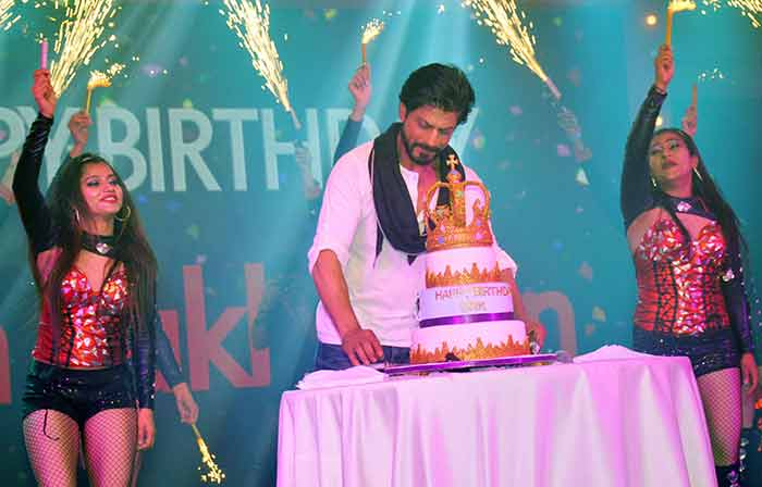 King Khan Celebrates 50th Birthday