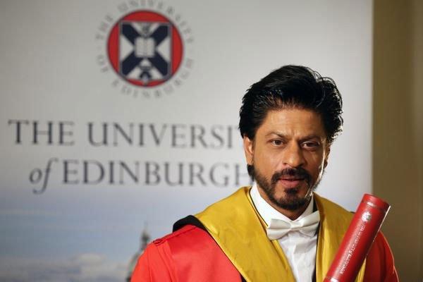 King Khan Receives Honorary Doctorate from Edinburgh University-03