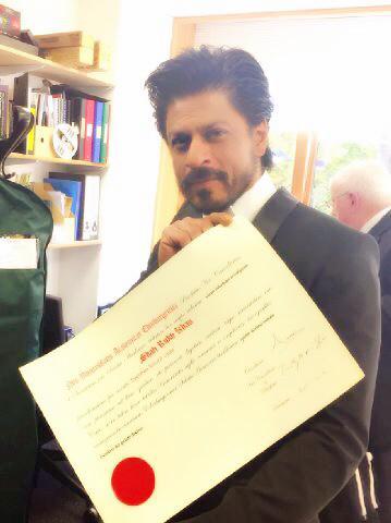 King Khan Receives Honorary Doctorate from Edinburgh University-04