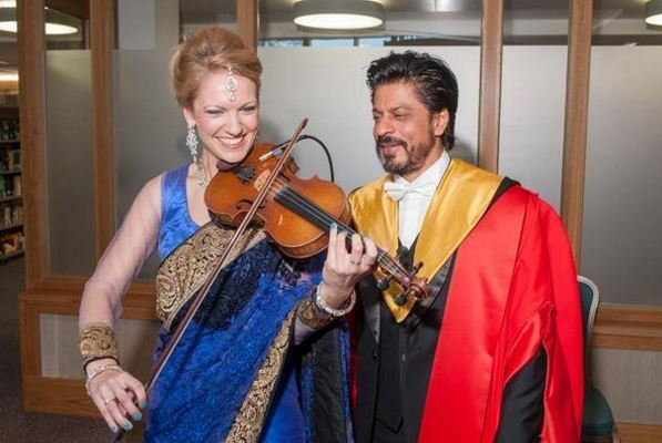 King Khan Receives Honorary Doctorate from Edinburgh University-08