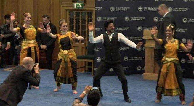 King Khan Receives Honorary Doctorate from Edinburgh University-09