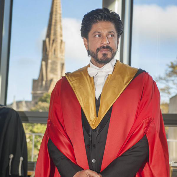 King Khan Receives Honorary Doctorate from Edinburgh University-10
