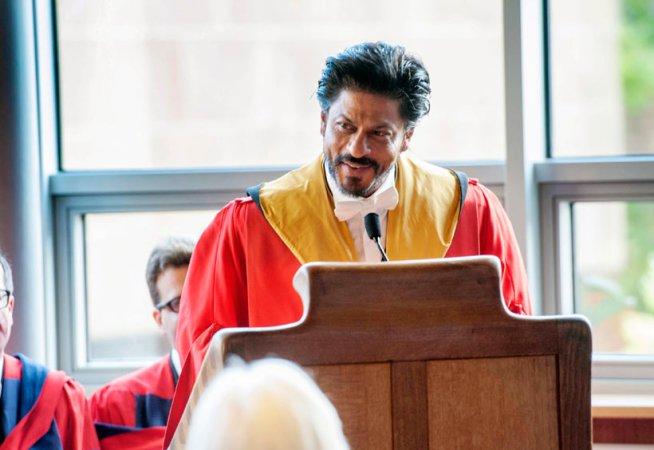 King Khan Receives Honorary Doctorate from Edinburgh University-12