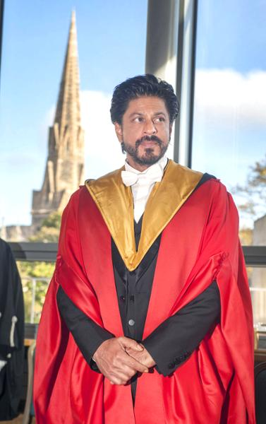 King Khan Receives Honorary Doctorate from Edinburgh University-15